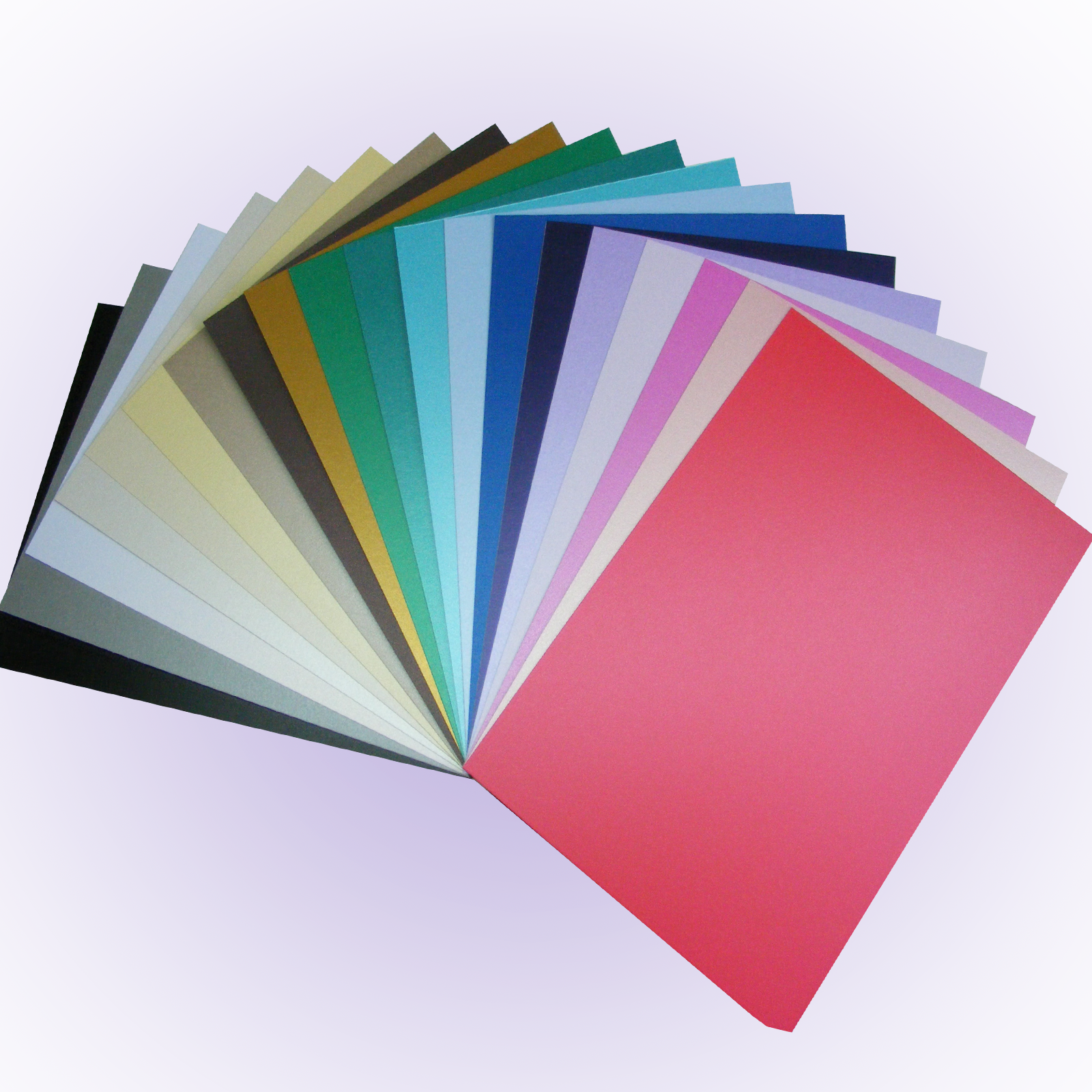 Gold 50 x A4 Pearlescent Shimmer Centura Card 260gsm ~ White Gold Silver